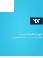 M. J. Ryan- AdaptAbility (Unplugged)