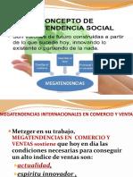 SEMANA 1B  MEGATENDENCIAS COMERCIO INTERNACIONAL