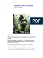Detonado call of duty 4