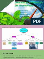 Análisis del potencial de combustibles_gas natural no renovable