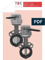 Butterfly valve series