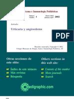 angioedema y urticaria