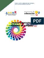 GESTION DE RIESGOS UNIDAD EDUCATIVA HEROES DE CENEPA 2018-2019