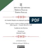 Gradual Simples - Fascículo II- Tempo Da Quaresma, Tríduo Pascal e Tempo Pascal (A6)
