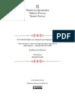 Gradual Simples - Fascículo II- Tempo Da Quaresma, Tríduo Pascal e Tempo Pascal (A5)