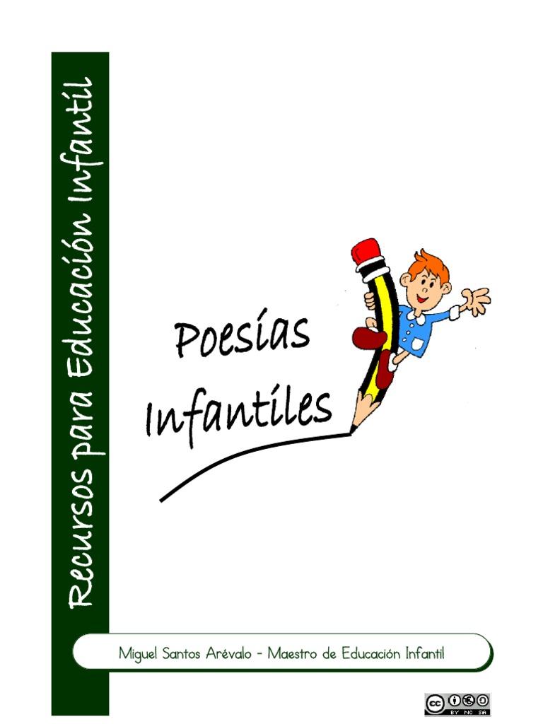 Poesías Infantiles Para La Escuela