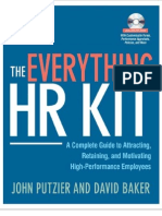 HR Toolkit Table of Contents and CD Summary