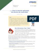 Exp4 Secundaria 3y4 Seguimosaprendiendo Educacionparaeltrabajo Act03Ideamosvariedaddesoluciones