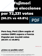 Fraude en Perú - Parte 1