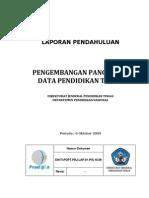 Laporan Pendahuluan_PDPT_DIKTI_2009