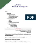 APUNTES Metodología de la investigación