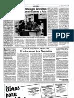 1983-06-12 - Tres paleontólogos catalanes descubren el hombre más antiguo de Europa y Asia