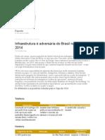 infraestrutura 2014 e 2016