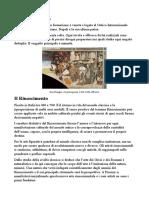 Storia Dell'Arte dal Rinascimento al Manierismo (libro Cricco di Teodoro riassunto)