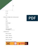 Questionnaire RMRP