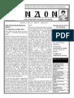 Περιοδικό ΕΝΔΟΝ Τεύχος 58 Ιούλιος 2021