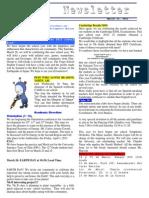 Newsletter 25 3 2011 En