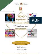 Test N_ 1 FR Chimie 16 - 17 Prov
