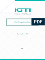 Bootcamp IGTI – Plano Pedagógico do Curso