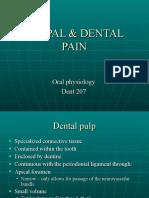 Pulpal & Dental Pain