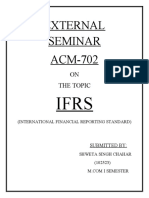 Summaries of International Financial Reporting Standards