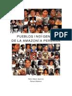 Pueblos Indigenas de La Amazonia Peruana - Pedro Mayor Aparicio - Richard E. Bodmer