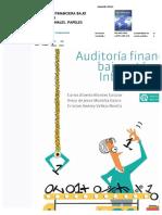 PDF Auditoria Financiera Bajo Estandares Internacionales Papeles Depdf