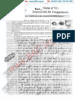 Série N°11 Avec Correction - Immunité de l'organisme - bac science