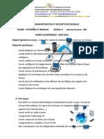 Cours d'Administration Et Sécurité Réseaux Chaiptre0 2020-2021 - Copie