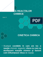 Curs 12. Cinetica Chimica