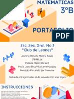 Portafolio 3 MATEMATICAS