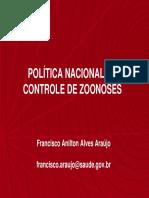 Política Nacional de CCZ - Francisco Anilton
