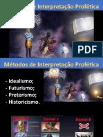 01 - Métodos de Interpretação Profética