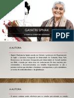 Aula Spivak e a morte da Literatura Comparada