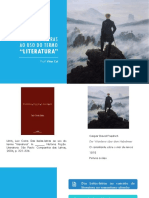 Aula Costa Lima - Das belas-letras ao uso do termo literatura