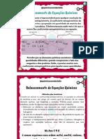 Dicas para balanceamento de equações químicas
