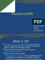 Main Theories of FDI
