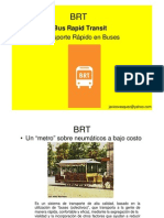 BRT (Bus rapid transit )