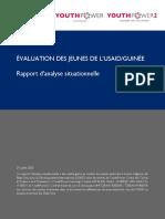 Rapport d'analyse Situationnelle_Evaluation des jeunes de l'USAID