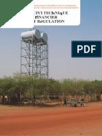 Mécanismes de suivi technique & financier et régulation_afd_ps_eau_2013