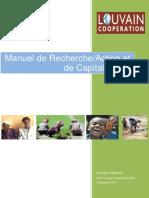 51 Capitalisation - Manuel de Recherche Action