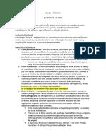 CAP 12 - ANATOMIA DA ATM - resumo turano