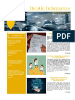 Boletín Informativo N° 2, Julio 2021