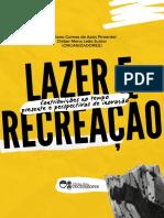 _EBOOK GRATUITO - Lazer e Recreação. Organizadores (PIMENTEL