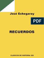 Recuerdos - José Echegaray