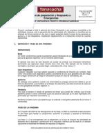 ERP-28.01 Plan de contingencia frente a Epidemias-Pandemias