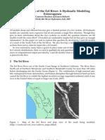 Eel River Hydraulic modeling
