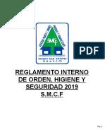 RIOHS S.M.C.F 2019