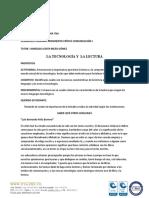 ACTIVIDADES DELA TECNOLOGÍA Y LA LECTURA 2017 (4) (1)
