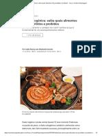 Dieta cetogênica_alimentos são permitidos e proibidos